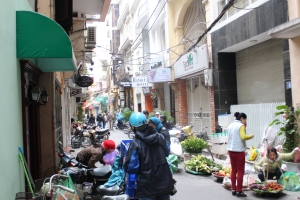 Alley-way in Hanoi
