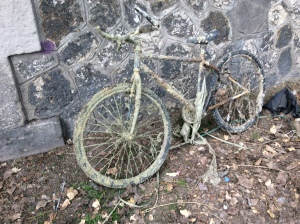 Bike fished out of Canal St. Martin