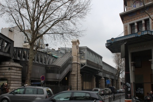 Metro station beside Louxor