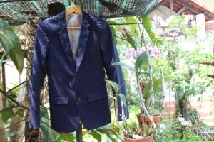Onlyboy's navy blazer