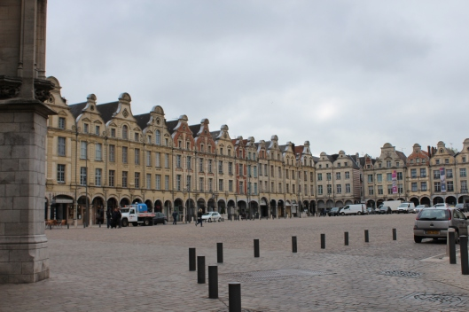 Arras centre, rebuilt