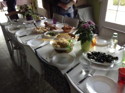 Dinner for twelve