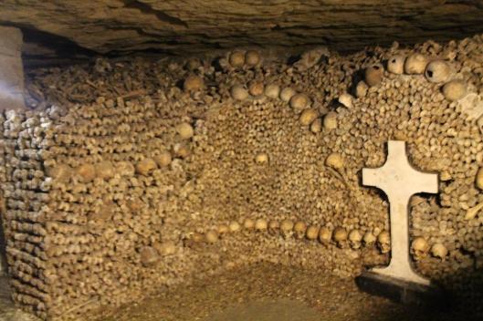 Bones carefully and artfully arranged