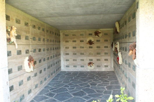 Crypt containing 180 German soldiers from the Second World War
