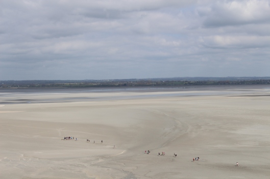 Low tide, Mont Saint Michel
