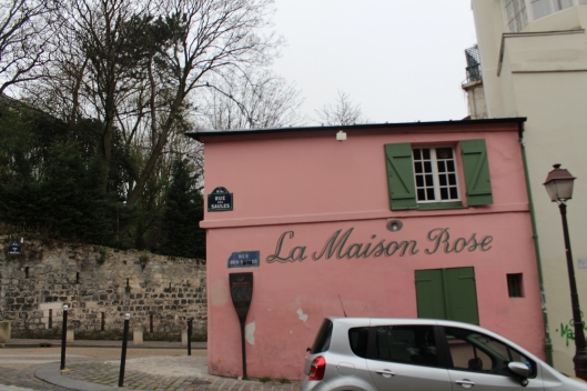 Maison rose - close to Paris vineyard