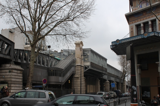 Barbès Metro Station