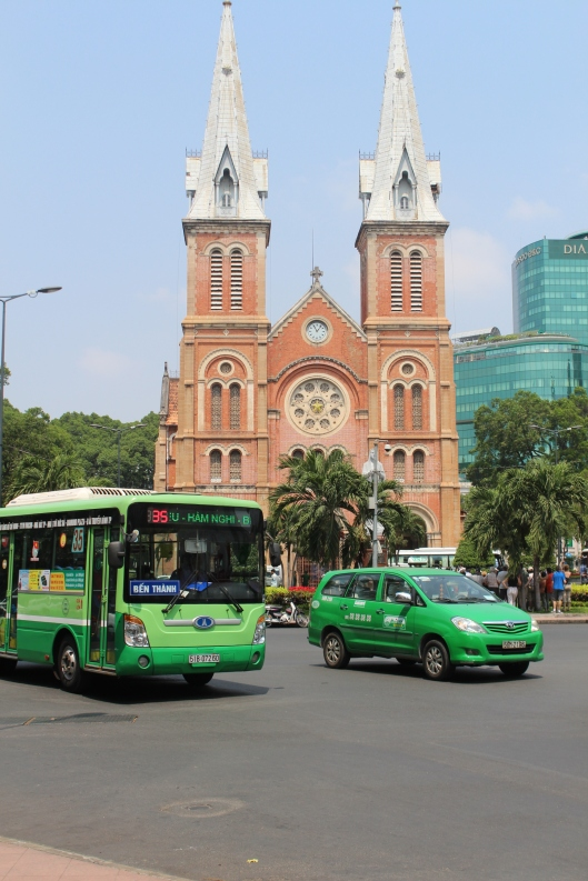 Notre Dame Cathedral - Saigon not Paris!