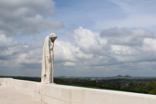 Monument at Vimy Ridge