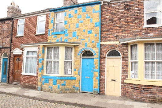 Vera Duckworth's stone cladding, Coronation Street