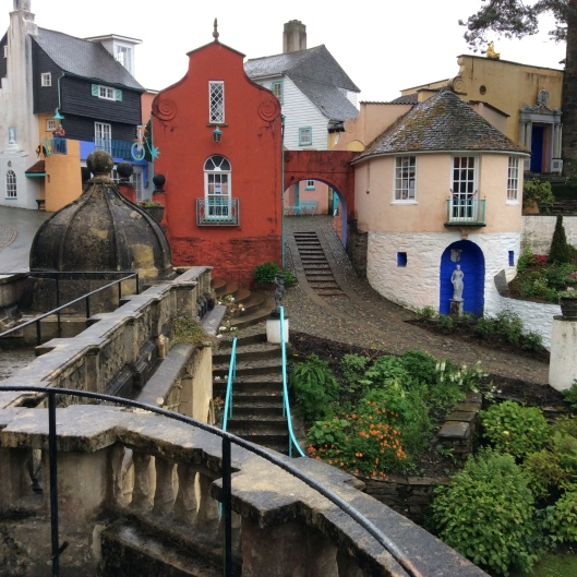 Portmeirion - more colourful than all the rest of Wales put together