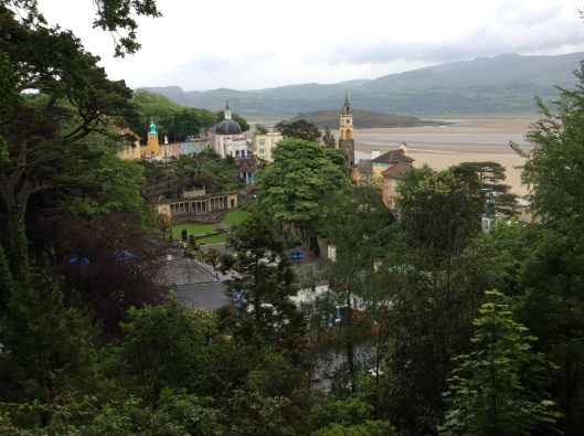 Portmeirion from above