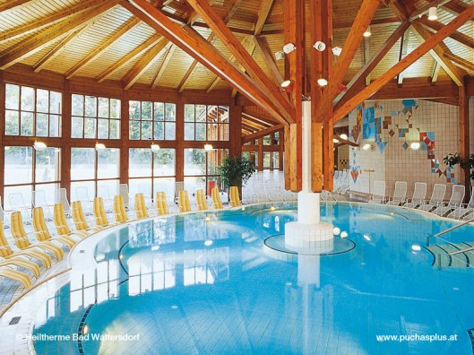 Our chosen spa - Heiltherme Bad Waltersdorf (photo from Puchasplus.at)