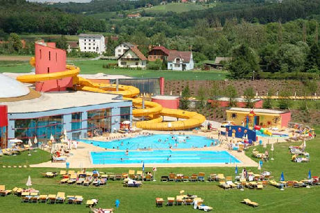 H2O Therme Resort, Bad Waltersdorfl  A water slide and a bunch of screaming kids isn't our idea of a spa (photo from austria-trips.com)