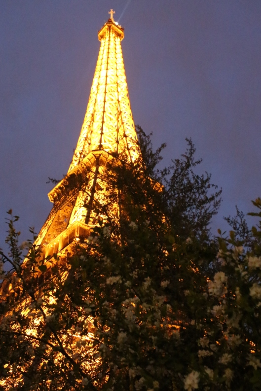 Eat well, sprint up the Eiffel Tower...