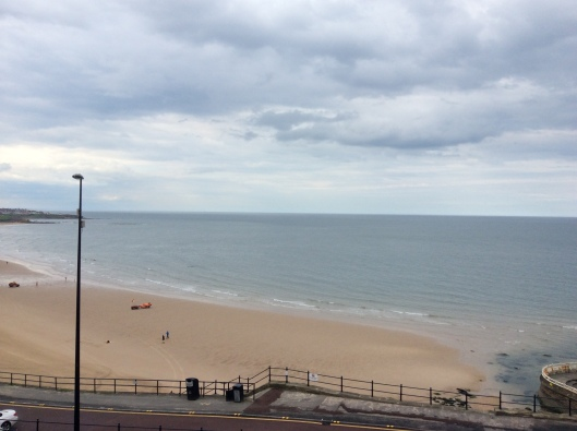View from our room, Tynemouth