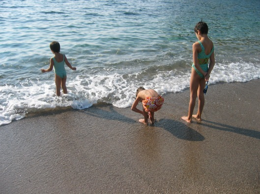 Firstborn, Onlyboy, Paris on the beach in Montenegro, 2006