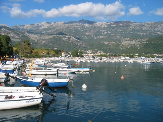 Budva harbour, Montenegro