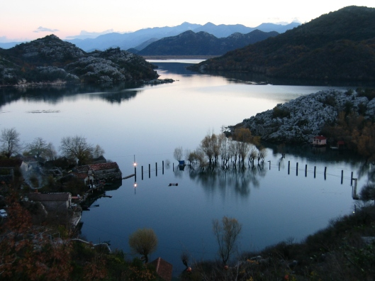 Montenegro near Skadar Lake
