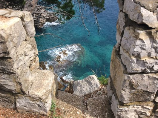 Gorgeous views on foot path, Petrovac