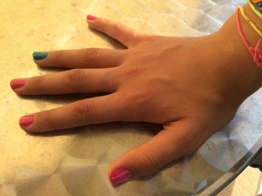 Nail polish selected by Paris