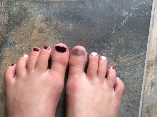 Venice opts for toe polish