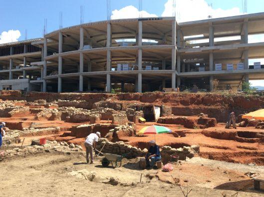 Archeological excavation, Ohrid