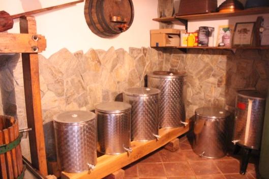 Vats of wine, CS Slovenia