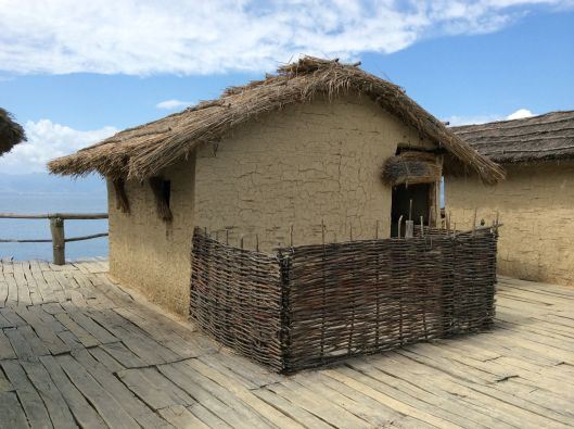 Recreated house, Bay of Bones