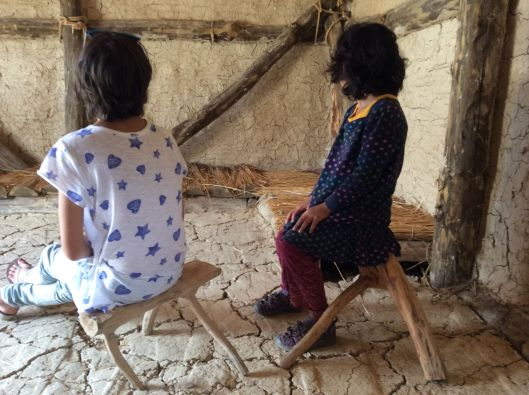 Venice and Lastborn test out some ancient stools