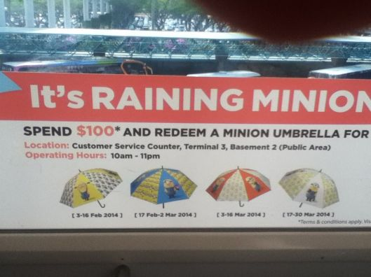 It's raining Minions in Singapore!