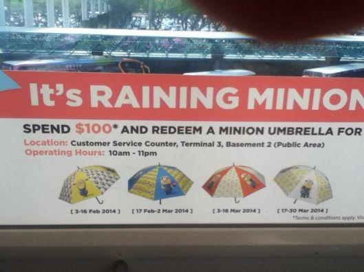 It's raining Minions in Singapore!