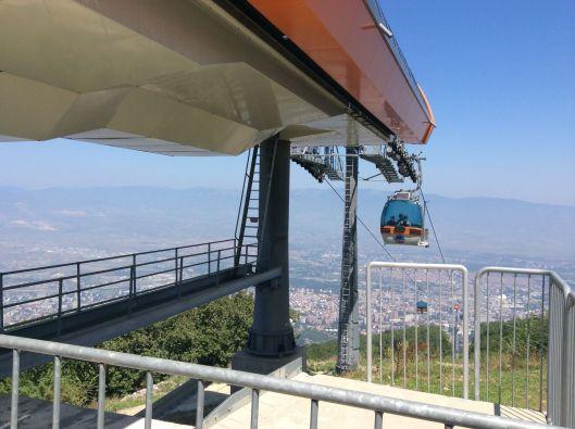 Gondola, Mount Vodno