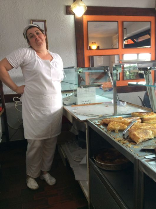 The server can't explain how we missed the meat burek two days in a row - sold out!