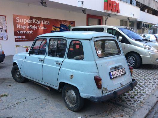 Old Yugoslav Renault