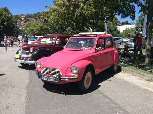 Two beauties from the Ohrid Old Timers Festival