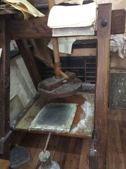 Paper press, Ohrid