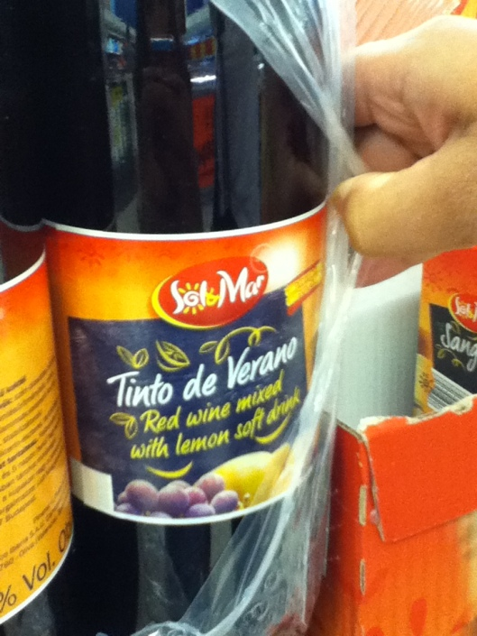 From the Spanish aisle...