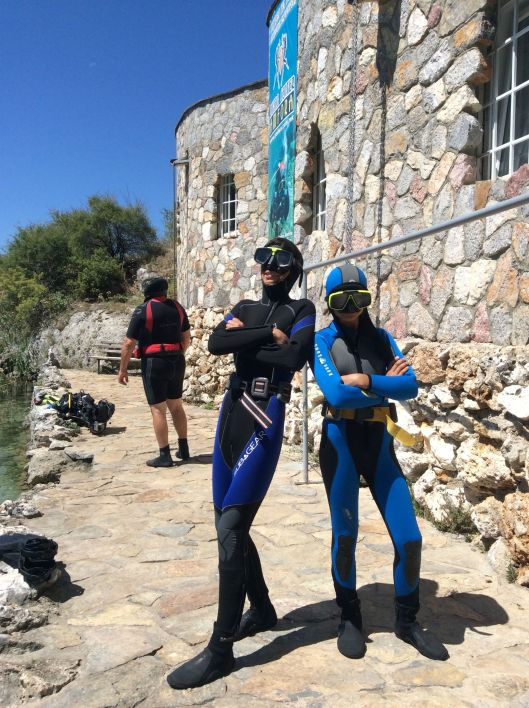 Fahbio, Onlyboy and Paris ready for diving