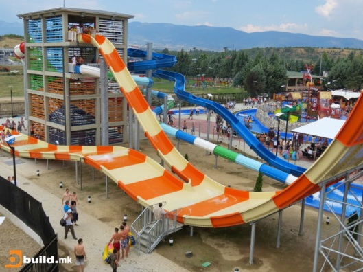 Skopje water park (photo from skyscrapercity.com)