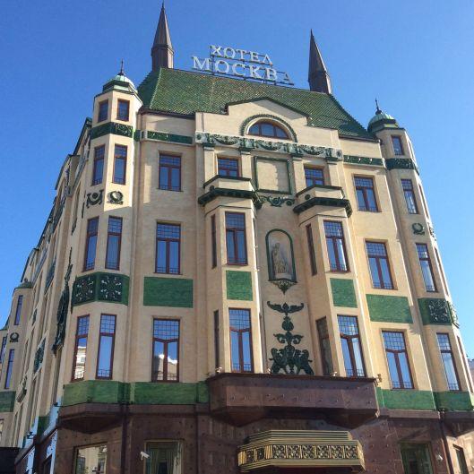 Beautiful hotel, downtown Belgrade