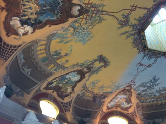 Carousel ceiling