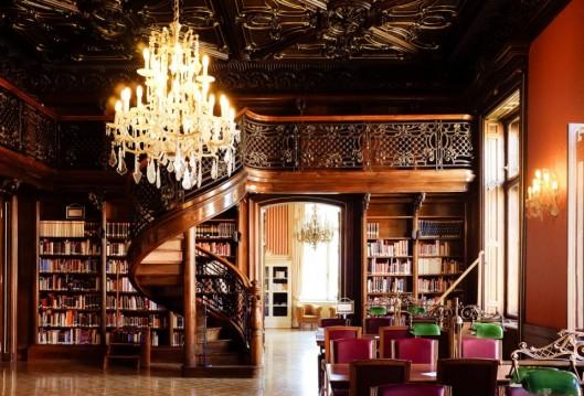 Budapest library from welovebudpest.com