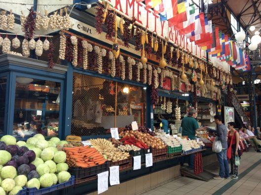 Budapest Central Market, Interior