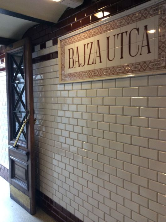 Our station - Bajza Utca
