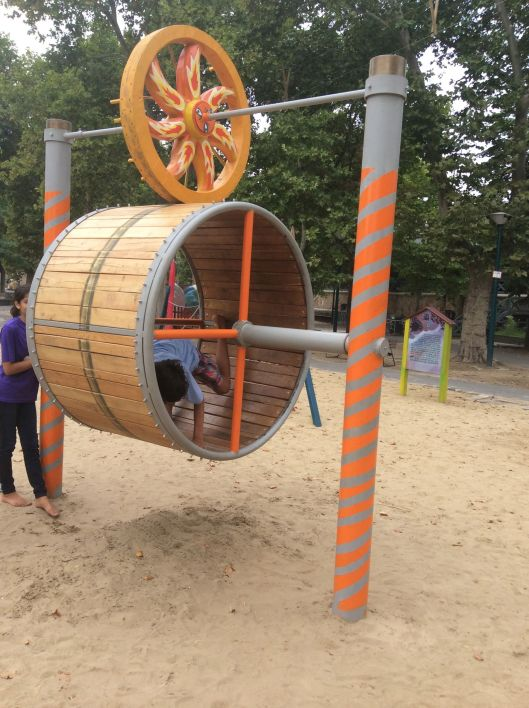 More hamster wheels!