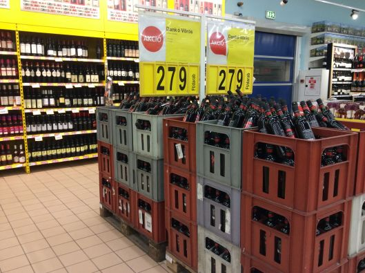 All this wine is on sale