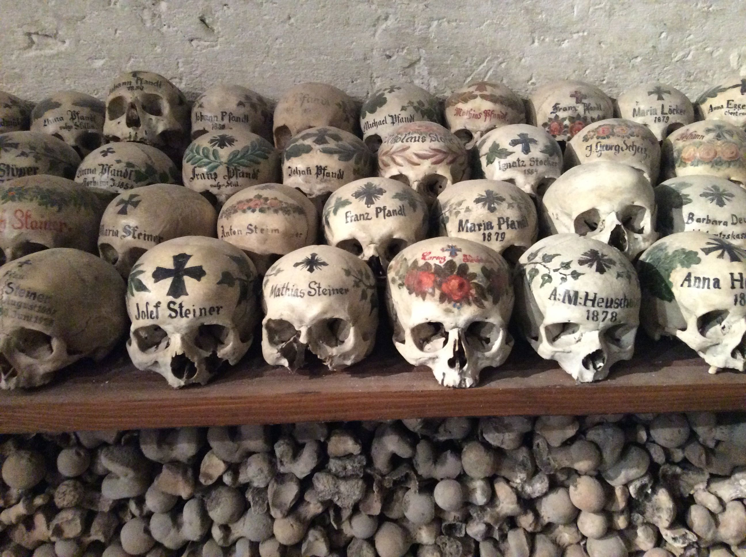 Exceptional Painted Skulls In The Bone House Gallery