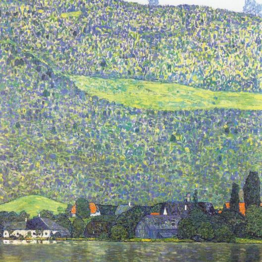 Litzlberg am Attersee, Gustav Klimt (from abc.net.au)