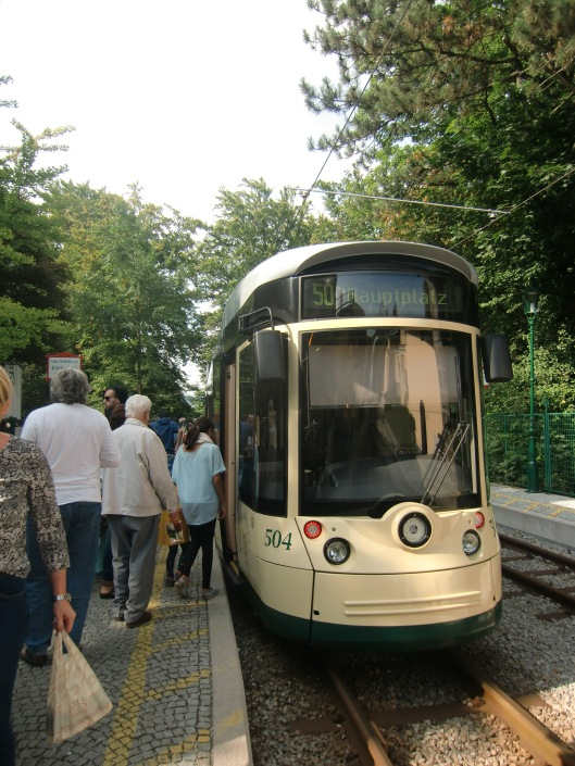 Linz, Pöstlingbergbahn (in operation since 1896)